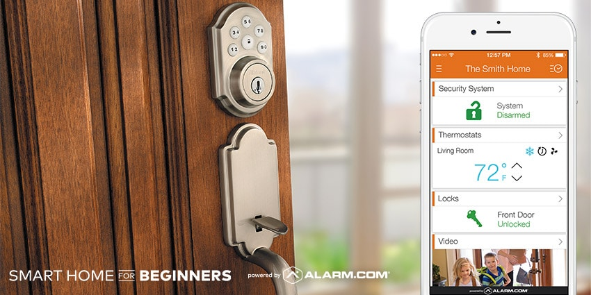 Smart Lock and Security System for your Home in Fresno or Clovis